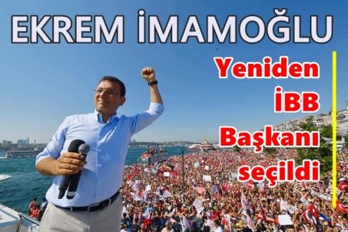 23 Haziran 2019 İstanbul seçim sonuçları belli oldu