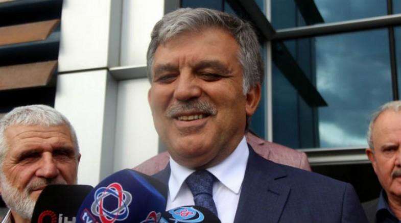 Abdullah Gül'e 'yeni parti' soruldu