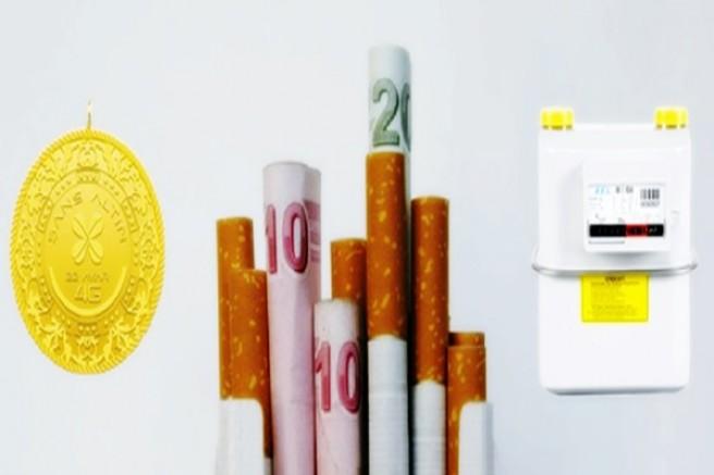Ağustos zamları, en çok tütün ürünlerini ve doğal gazı etkiledi