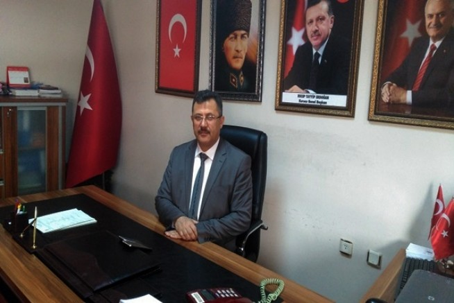 Ak Parti Merkez İlçe Başkanı Hüseyin Çiftci, İstiklal Marşı'nın kabulü yıl dönümünü kutladı