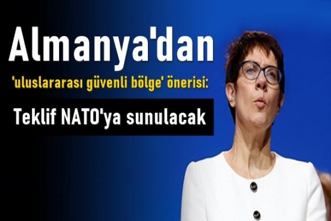 Almanya'dan 'uluslararası güvenli bölge' önerisi: Teklif NATO'ya sunulacak