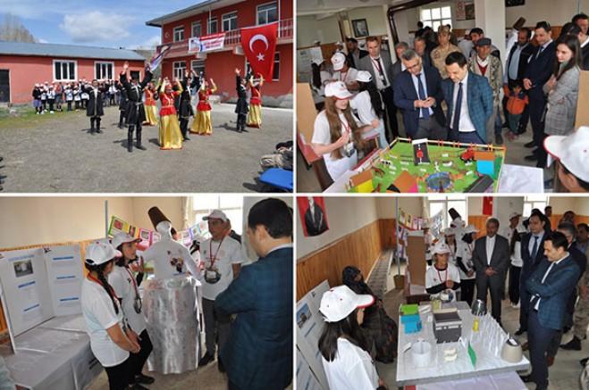 Arpaçay'da Okulların Bilim Fuarları