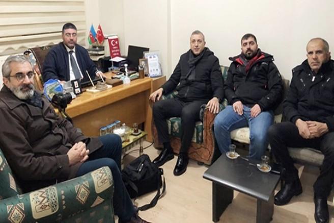 Başkan Ercüment Daşdelen'e 'hayırlı olsun' ziyaretleri devam ediyor