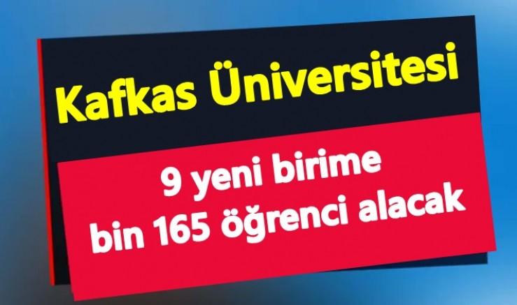 Bin 165 öğrenci alınacak