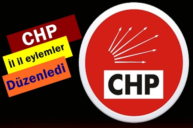 CHP, Kılıçdaroğlu için 81 ilde eylem düzenledi