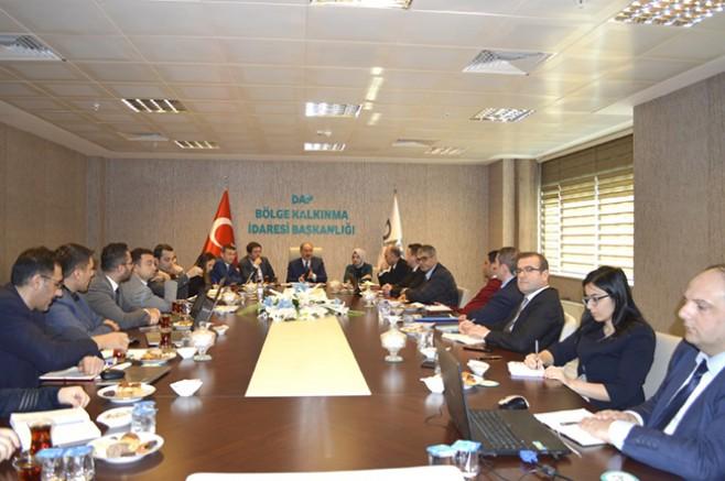 DAP Bölgesi, kalkınma ajanslarıyla işbirliği toplantısı