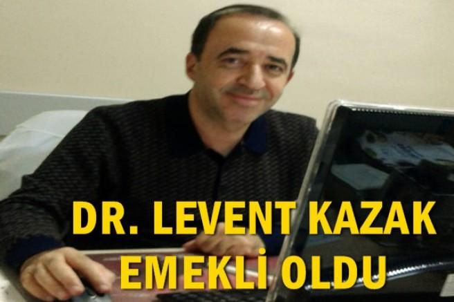 Doktor Levent Kazak emekli oldu