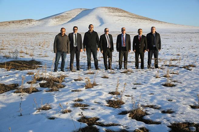 DSİ Genel Müdürlüğü heyeti, Kars'ta incelemelerde bulundu