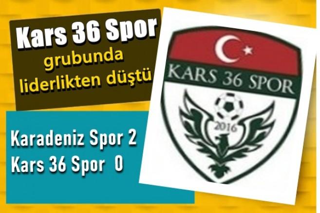DSİ Karadeniz Spor: 2 - Kars36 Spor: 0