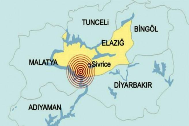 Elazığ'da 6,8'lik deprem: En az 4 ölü