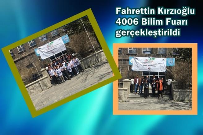 Fahrettin Kırzıoğlu 4006 Bilim Fuarı gerçekleştirildi