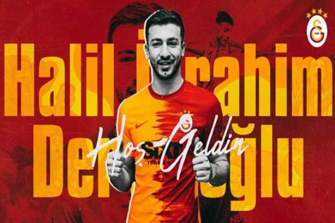 Halil Dervişoğlu Galatasaray'a hayırlı olsun!