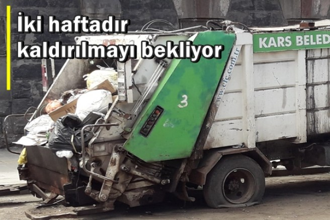İKİ HAFTADIR KALDIRILMAYI BEKLİYOR