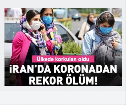 İran'da koronavirüsten rekor ölüm