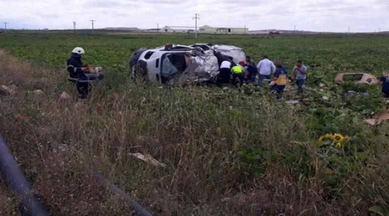 İşçi minibüsü ile tır çarpıştı: 7 kişi yaşamını yitirdi