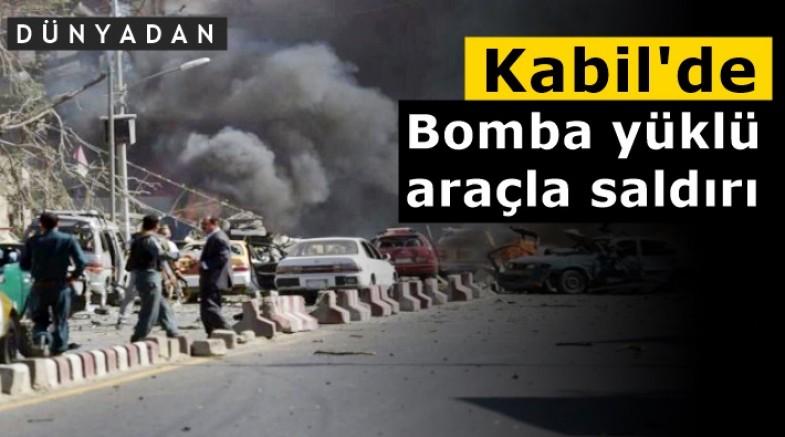Kabil'de bomba yüklü araçla saldırı: Ölü ve yaralılar var