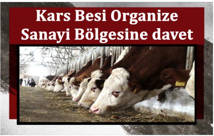 Kars Besi Organize Sanayi Bölgesine davet