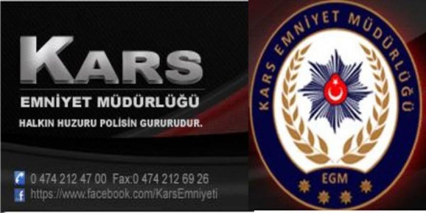 Kars'ta 9 günde 4 bin 328 şahıs sorgulandı