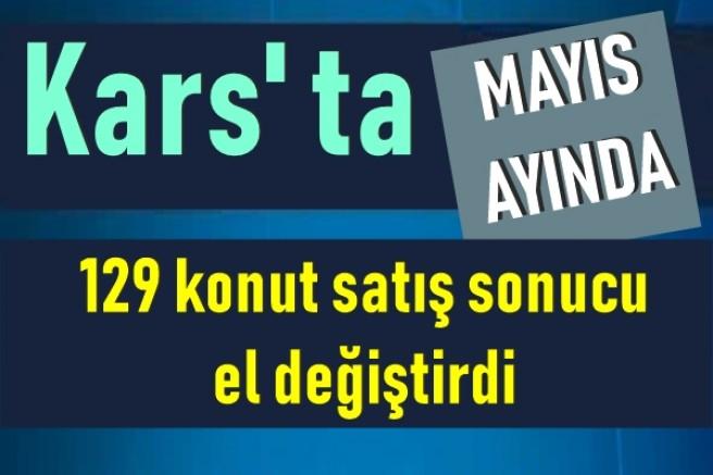 Kars'ta Mayıs ayında 129 konut satıldı