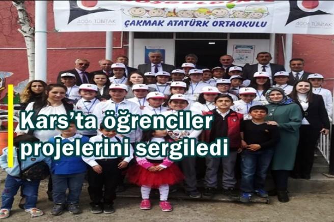 Kars'ta öğrenciler projelerini sergiledi