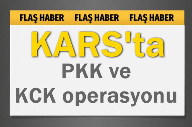 Kars'ta, PKK/KCK operasyonu: 2 kişi tutuklandı