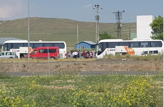 Kars'tan İstanbul seçimi için otobüs kaldırıldı