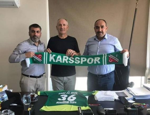 Kars36 Spor'un yeni teknik direktörü belli oldu