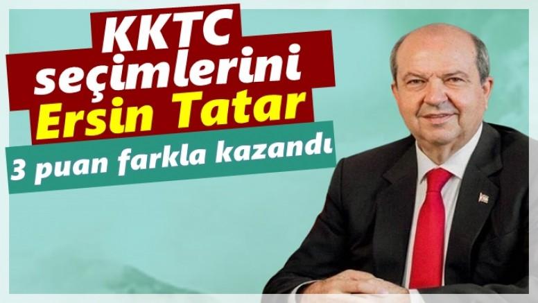 KKTC seçimlerini Tatar kazandı