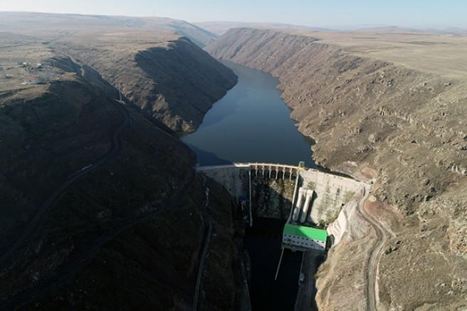 Kotanlı Barajı ve Kotanlı 2 HES'in kesin kabulü yapıldı