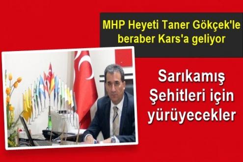 MHP Heyeti Kars'a gelerek