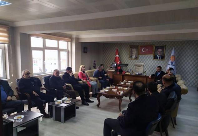MHP Kars İl Başkanlığından AK Partiye ziyaret