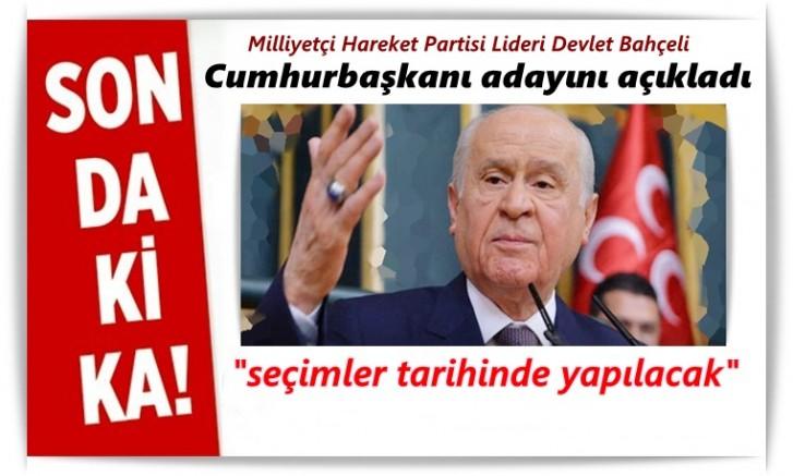 MHP Lideri Bahçeli: Hiç kimse boş hayale kapılmasın