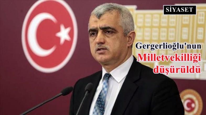 Ömer Faruk Gergerlioğlu'nun milletvekilliği düşürüldü!