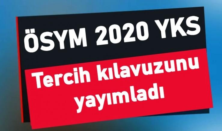 ÖSYM 2020 YKS tercih kılavuzunu yayımladı