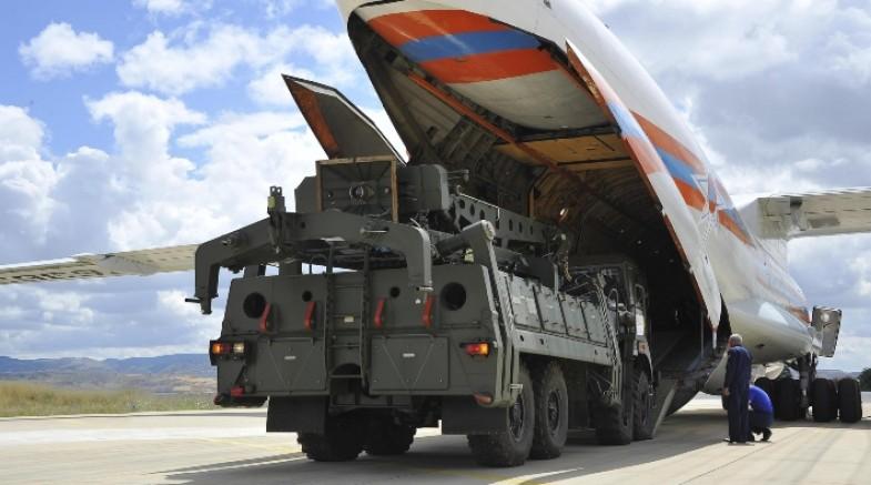 S-400 sevkiyatında dokuzuncu uçak Mürted'e indi