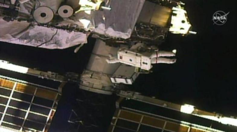 Sadece kadınlardan oluşan astronotlar tarihe geçti