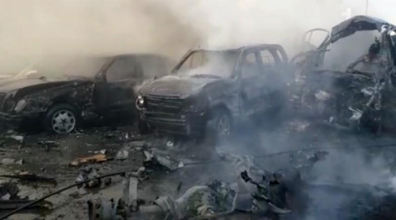 Suriye'de bombalı araçla saldırı: 18 ölü, 30 yaralı