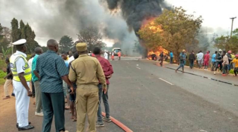Tanzanya'da tanker patladı: En az 57 ölü