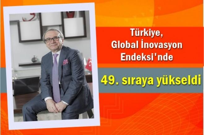 Türkiye, Global İnovasyon Endeksi'nde 49. sıraya yükseldi