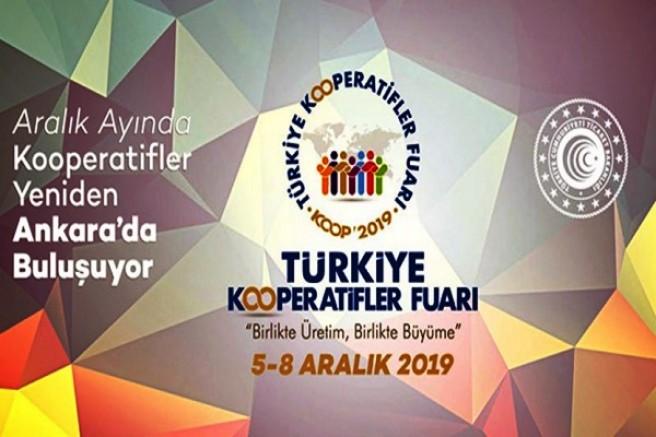 Türkiye Kooperatifler Fuarı 5-8 Aralıkta başlıyor
