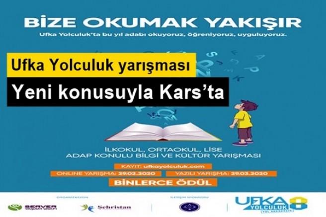 Ufka Yolculuk yarışması yeni konusuyla Kars'ta