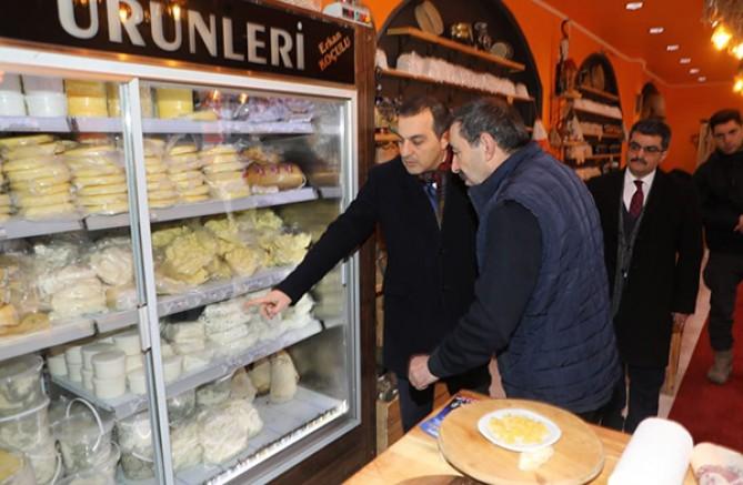Vali Türker Öksüz KOSGEB'ten destek alan işletmeleri ziyaret etti